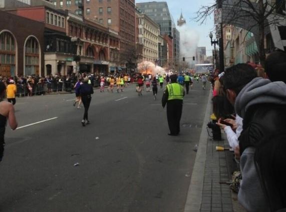 Bombas em Boston